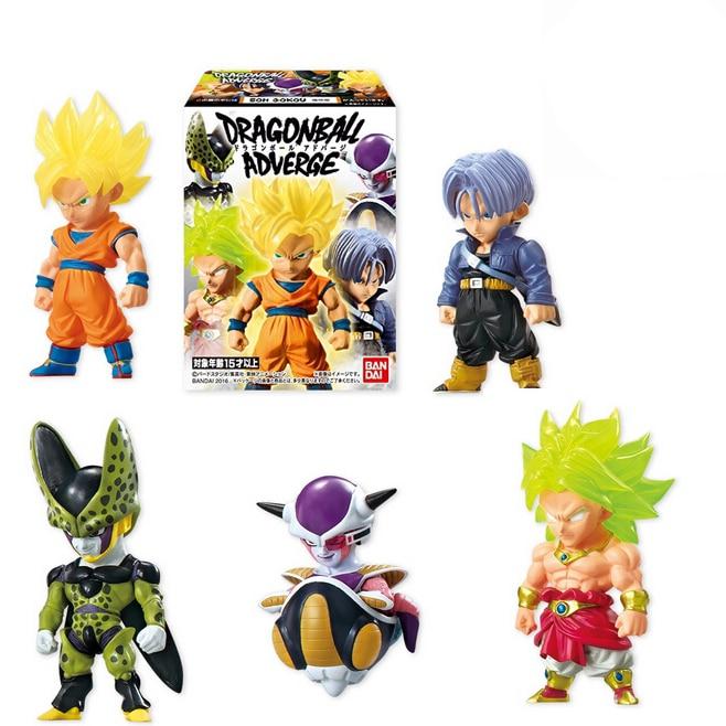 ФОТО Dragon Ball Adverge Part 1 Action Figure Toys - Son Gokou,Cell,Freeza,Trunks,Broly - Full set 100% Original