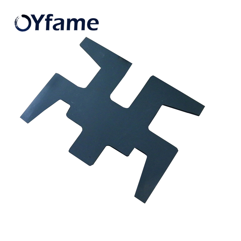 OYfame Hot sales 30 38cm sublimation shoes flat panel plate for shoes heat press machine