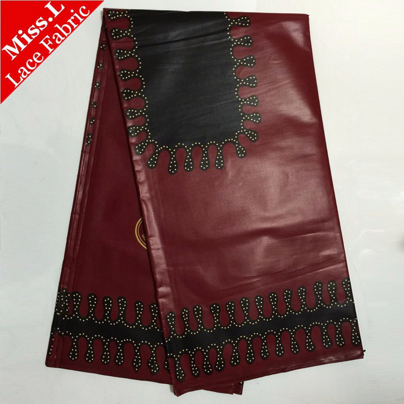 2017 african high quality real dutch wax veritable Java wax hollandais style for patchwork sewing wedding dress
