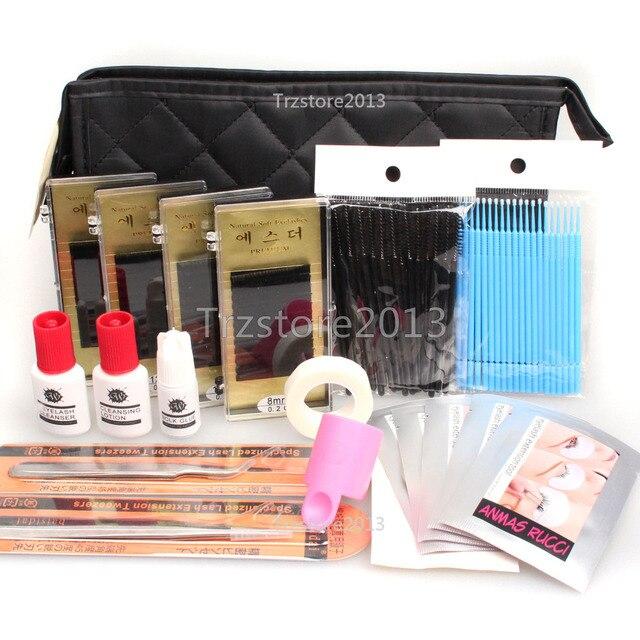 2a4f4eb45e7 Pro C Curl Wonder Lash Starter Kit Semi Permanent Individual Eyelash  Extensions