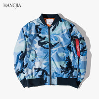 Fashion Camouflage Military MA1 Bomber Jackets Men Retro Thin Section Air Force Pilots Youth Baseball Jacket Plus Size Hip Hop