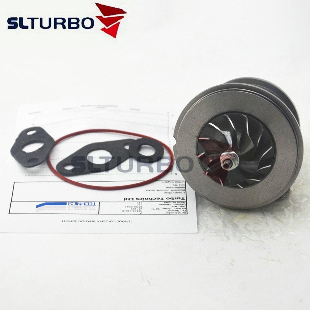 TD02 TD025M Turbo Cartridge Balanced 49173-02622 For Hyundai Accent 1.5 CRDI D3EA 60Kw 82 HP - CHRA Turbine Core 49173-02623 NEW