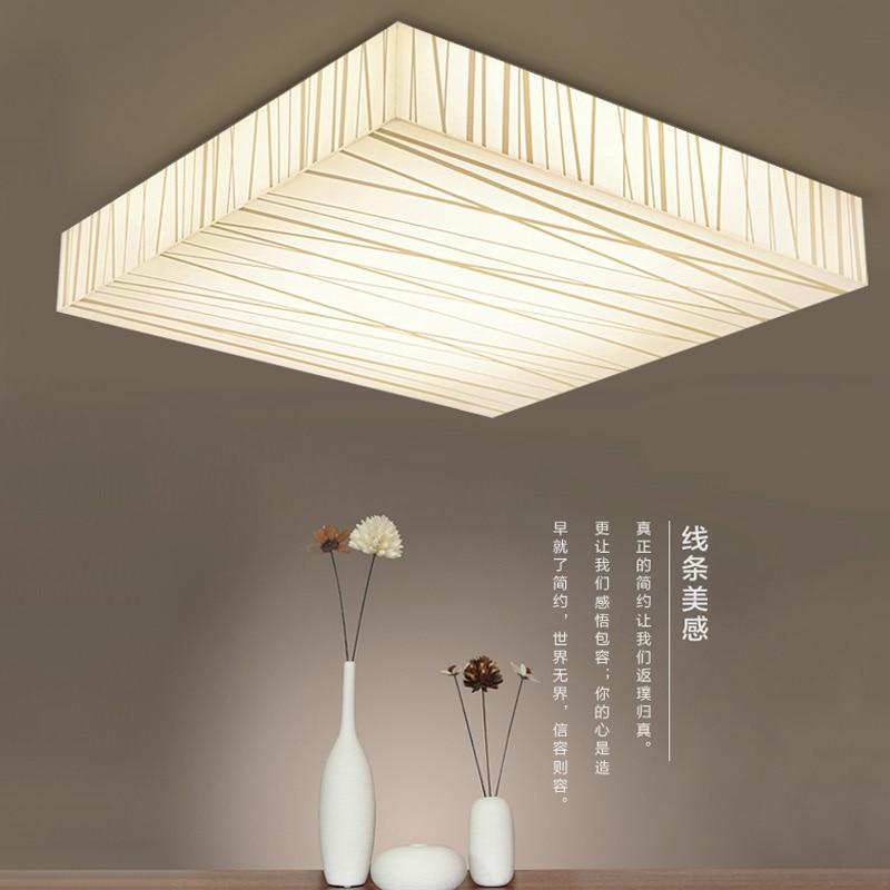 US $73.81 40% OFF|Modernen quadratischen LED panel oberfläche montiert  deckenleuchte küche bad beleuchtung AC110 240V luminarias para-in ...