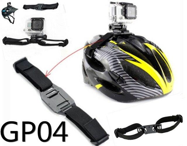 Gopro GP04 Hero3 / 2 / 1 аксессуары велосипед шлем ремень безопасный ремень для спорт DV камера SJ4000 Sj5000