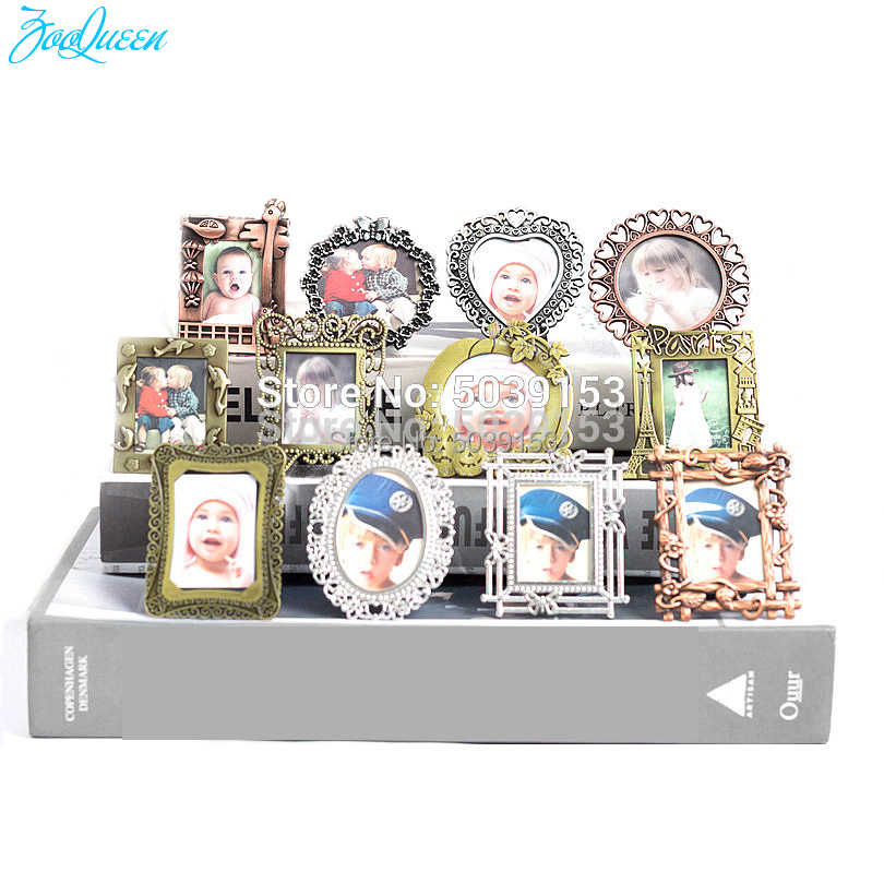 Creative Mini Photo Frame Set 100% Freely Develop Photo Kids Baby Desktop Picture Frames home Decor Birthday Gift Accessories