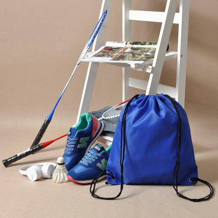 by dhl 100pcs Premium School Drawstring Duffle Bag Sport Gym Swim Dance Shoe Backpack Free DHL