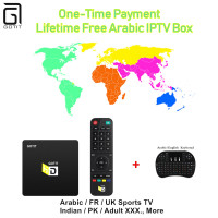 HD Del Mondo A Vita Gratuito Arabo Turchia IPTV 4 K UHD Android TV Box 17.0 KODI Europa REGNO UNITO Indiano adulto 1000 + IPTV KO Great Ape Box