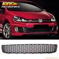 Для 10-14 VW Golf/TDI/Jetta MK6 Соты Сетка Нижняя Передняя Решетка Гриль-ABS США внутренний Бесплатная Доставка Горячий Продавать
