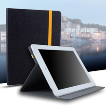 Ultra Slim Smart Case For Apple iPad 2/3/4  9.7 tablet Cover Cloth PU Leather Soft TPU Folio Stand Protective Shell