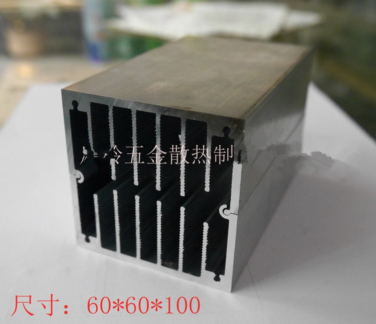 CPU Aluminum Alloy Radiator 60*60*100 / 93*93*100MM Electronic Components Aluminum Heatsink Aluminum Heat Dissipator Module