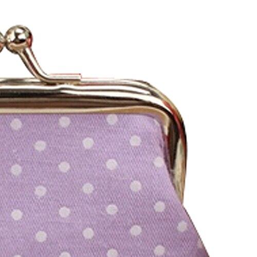 Wholesale 5pcs ( Popular Cute girls Wallet Clutch Change Purse key/coins bag Mini Handbag Pouch purple