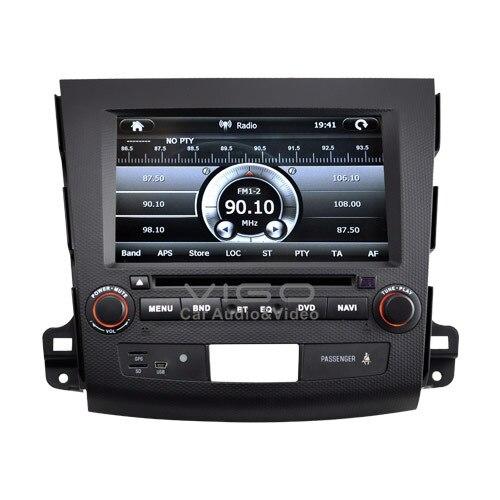 car stereo de navigation gps pour mitsubishi outlander pour citroen c crosser pour peugeot 4007. Black Bedroom Furniture Sets. Home Design Ideas