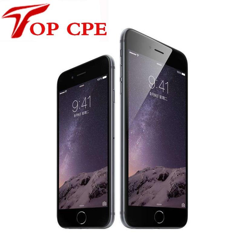"Unlocked Original Apple iPhone 6 inch 4.7 6 Plus inch 5.5"" LTE phone 16GB/64GB/128GB Ultra Slim IOS 1080P 8MP free shipping"