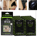 10 Pcs/Lot  Nose Herbal Blackhead Remover Mask Deep Cleansing Purifying Peel off Black Mud Nose Mask Acne Remover Strawberry