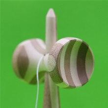 Unpainted Bamboo Kendama