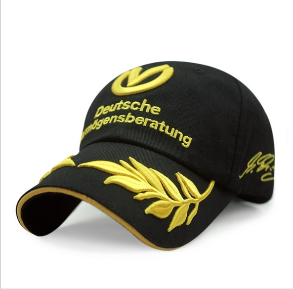 be8f911c75a Formula 1 Baseball Cap Michael Schumacher Signed F1 Racing Gorras Snapback  Sport Bone Outdoor Mens Hat Wheat Embroidery