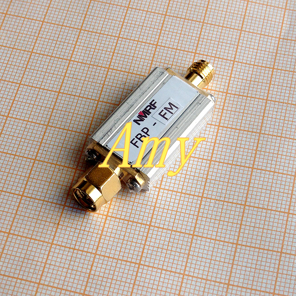 88 ~ 108MHz bandpass filter, FM broadcast band pass filter, SMA interface, ultra small volume.