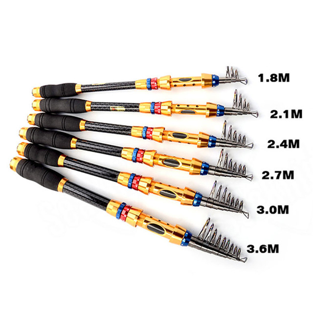 Best Superhard 1 Piece Telescopic Fishing Rod Spinning Fishing Pole Fishing Rods 2fa47f7c65fec19cc163b1: 1.8 m|2.1 m|2.4 m|2.7 m|3.0 m|3.6 m