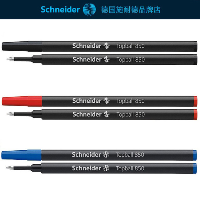 Free Shipping Schneider Topball 850 0 5mm Gel Pen Refills Licable Clic For The Core School Office Supplies