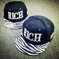 2015 Fashion Men Hiphop Snapback Adjustable Baseball Zebra Print Hats Women Letter Snapbacks Flat Hats and Caps