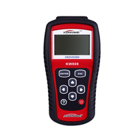 KONNWEI KW808 OBD2 Auto Scanner Code Reader EOBD/CAN Diagnostic Tool like Autel MS509 Creader Freeze Data Graphing Datastream