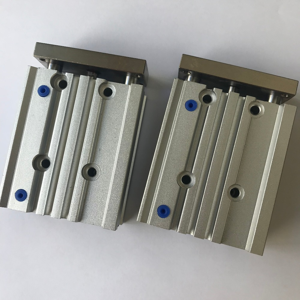 bore size 25mm* 20mm stroke MGP three shaft cylinder with magnet and slide bearing bore size 25mm* 20mm stroke MGP three shaft cylinder with magnet and slide bearing
