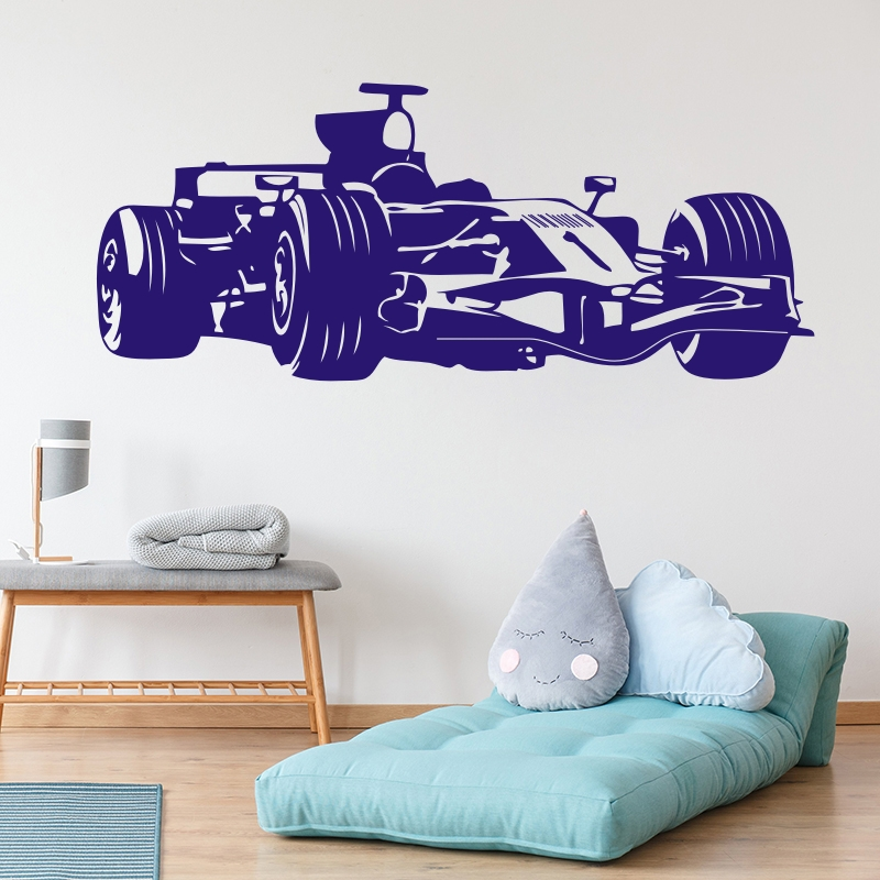 Pink Rocket Auto Car Race Vinyl Decals Stickers sticker Home Wall Window
