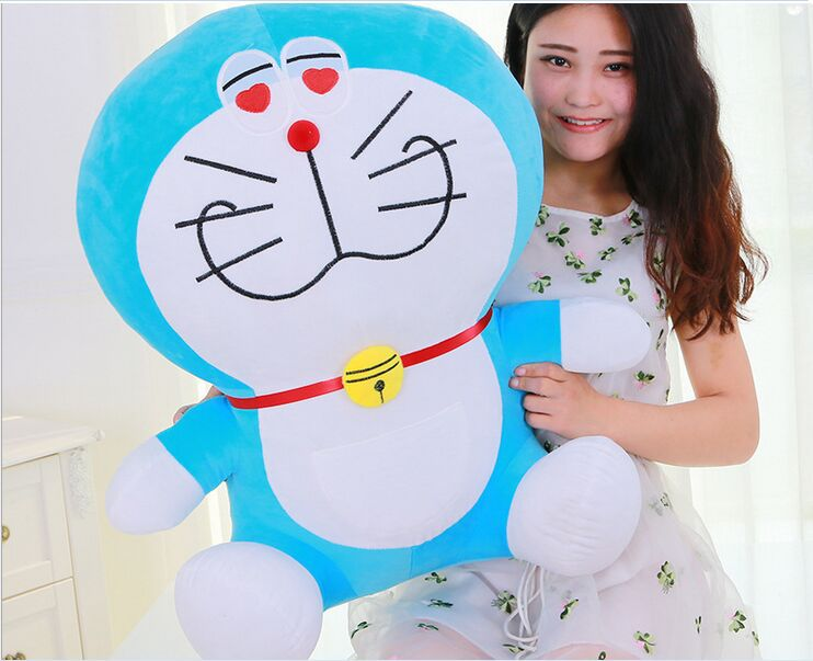 big plush lovely Lechery doraemon toy stuffed lovely doraemon doll perfect gift about 70cm lovely giant panda about 70cm plush toy t shirt dress panda doll soft throw pillow christmas birthday gift x023
