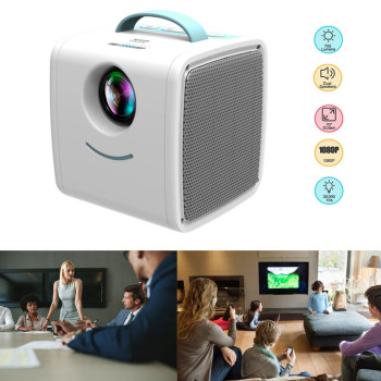 Household Mini Projector HD 1080P Portable Home Theater Beamer GDeals
