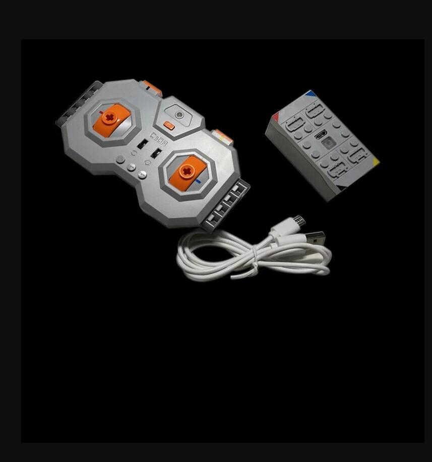 Литиевая батарея (перезаряжаемая) + 4 дистанционного управления литиевая батарея может подключаться 4 PF 8878-1 54599 MOC строительные блоки