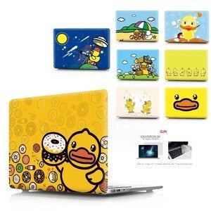 Image 1 - Ente farbe druck notebook fall für Macbook Air 11 13 Pro Retina 12 13 15 zoll Farben Mit Touch Bar neue Air 13 Pro 13 15