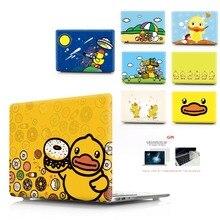 오리 컬러 인쇄 노트북 케이스 macbook air 11 13 pro retina 12 13 터치 바가있는 15 인치 색상 new air 13 pro 13 15