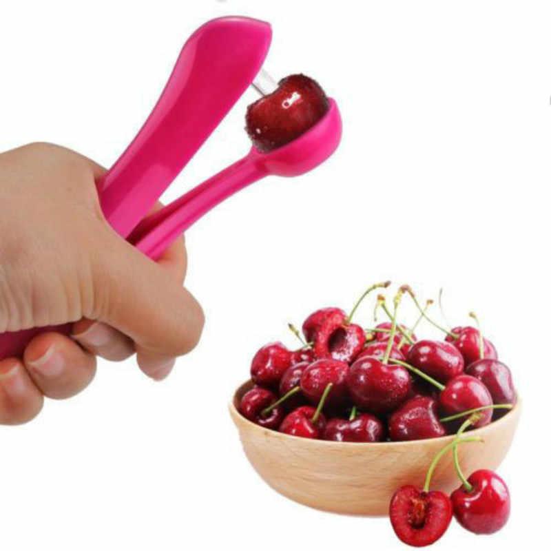 Кухня инструмент Вишневый оливковое Стоунер ямы семян фрукты удаления Squeeze
