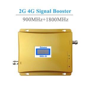 Image 2 - Lintratek LCD affichage GSM900 + GSM 1800 répéteur de Signal 4G LTE 1800 Mhz GSM 900 Mhz double bande amplificateur de Signal de téléphone portable