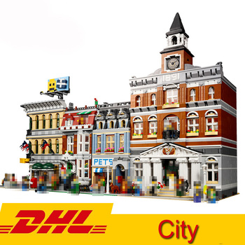Compatible Legoings City Street view 15006 15010 15042 15005 15004 15003 15001 15010 15011 15008 15019 Model Building Block
