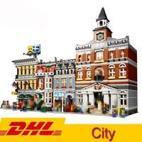 In Stock Street City view Lepining 15006 15010 15042 45014 15039 15019 Model Building Block