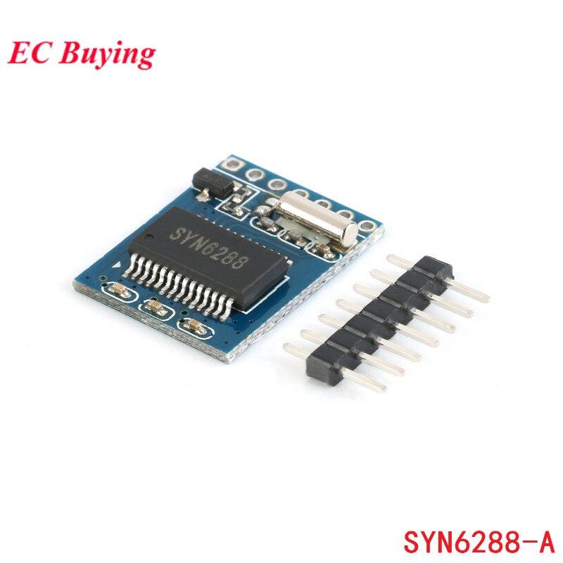 Module de synthèse vocale SYN6288A Module TTS texte à voix enregistrement gratuit SYN6288-A de diffusion vocale intelligente