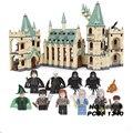 Movie Hogwarts castle Legoings Harry Potter Movie Action Figure Blocks Model Building Bricks Toys For Children Fit For LegoINGS