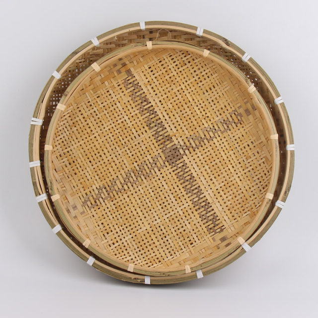 Bamboo plate hand made bamboo weave sieve groceries baskets circular receive case Unbreakable all natural heat insulation crafts  sc 1 st  Aliexpress : bamboo plate - pezcame.com