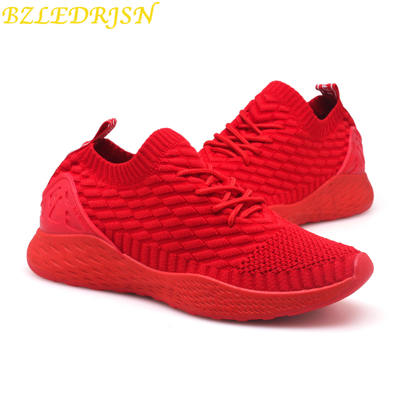 Sneakers Men 2019 Light Weight Running Shoes For Men Air Sole Breathable zapatos de mujer High Quality Beginner Sport Shoes in Running Shoes from Sports Entertainment