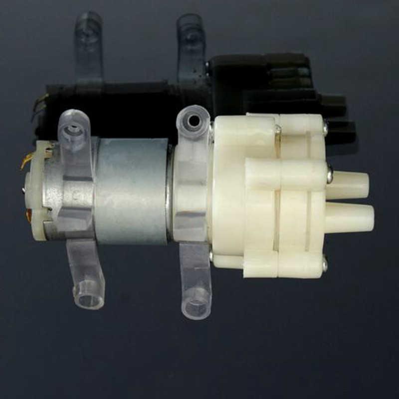 Priming Mini Diafragma Pompa Semprot Motor 12V 5 W Mikro Pompa Air Dispenser 90 Mm X 40 Mm X 35 Mm 106G Max Hisap 2 M