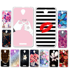 Ojeleye DIY Patterned Silicon Case For Lenovo A5000 Case Sof