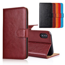 For Micromax YU Yureka S Case cover Kickstand flip leather Wallet case With Card Pocket(China)