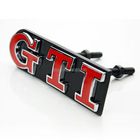 3D Auto GTI EDITION Front Grill Emblem Badge For VW Polo VW Golf 4 Golf 5