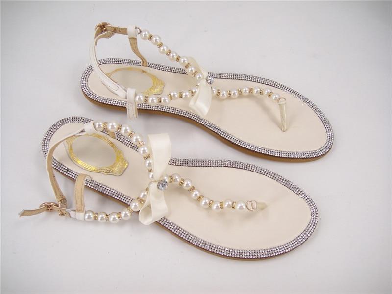 Cheap Ivory Flat Shoes