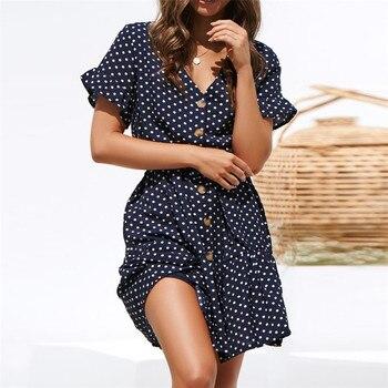 Beach Dress Casual Short Sleeve 4