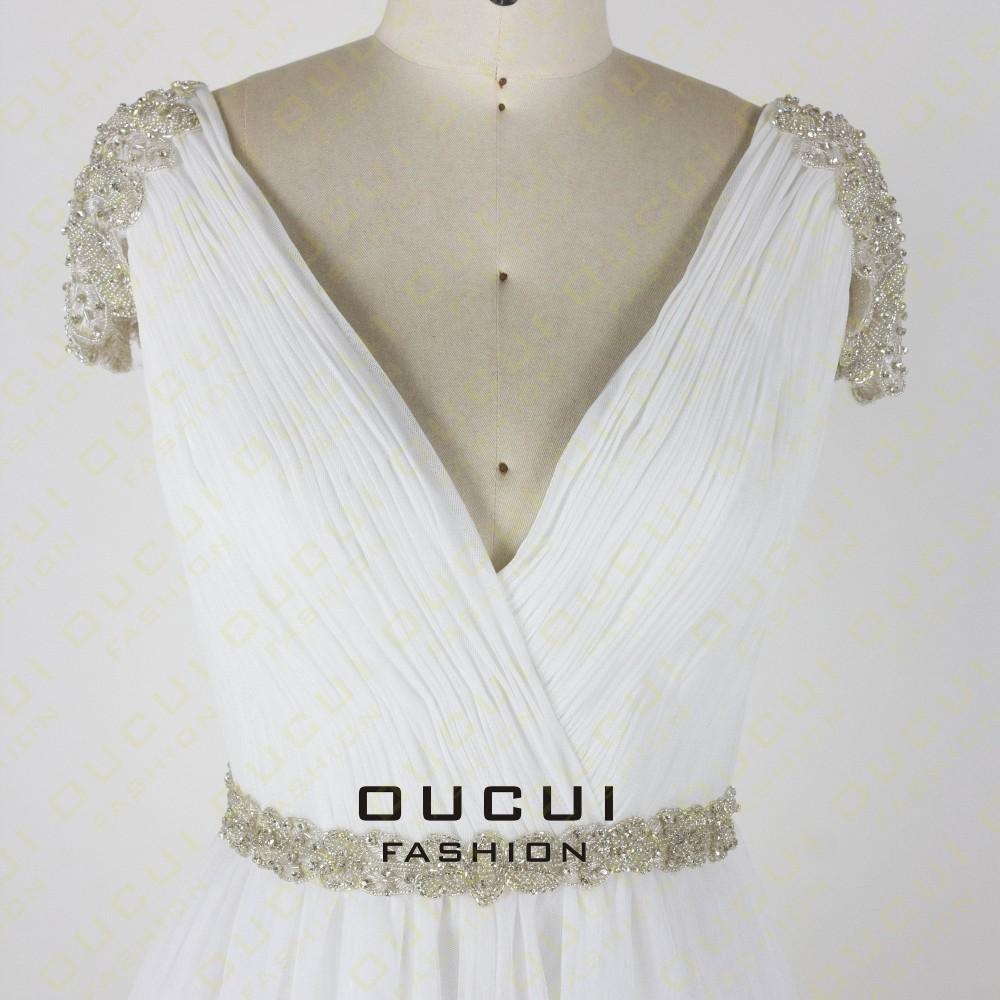 Tulle Fabric Pleat With Beading Handwork Bridesmaid Mermaid Long Prom Dress With Stones OL102785 vestido de festa de casamento 22