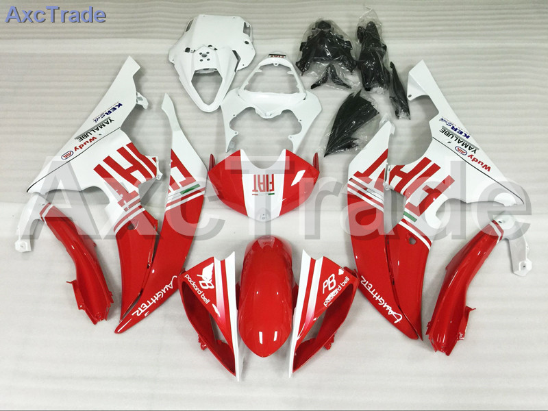 Motorcycle Fairings Kits For Yamaha YZF600 YZF 600  R6 YZF-R6 2008-2014 08 - 14 ABS Injection Fairing Bodywork Kit Red White injection molding bodywork fairings set for yamaha r6 2008 2014 blue white black full fairing kit yzf r6 08 09 14 zb77