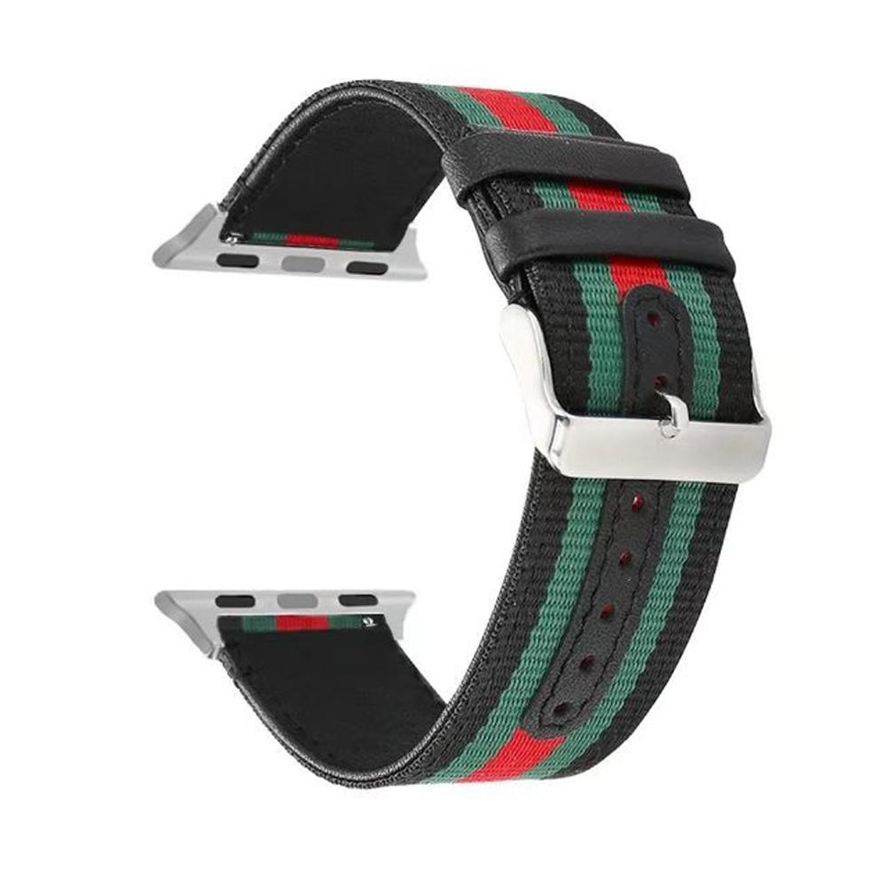 Prix pour Pour apple watch 38/42mm de courroie de bande remplacement compatible avec samsung s3 classique/frontière 22mm largeur de bande nylon bracelet i37.