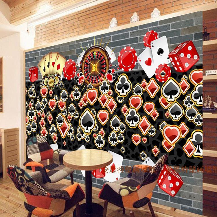 Custom Photo Wallpaper 3D Stereo Nostalgia Large Wallpaper Mural KTV Bar Cafe Tea Shop Lounge Chess Poker Wallpaper